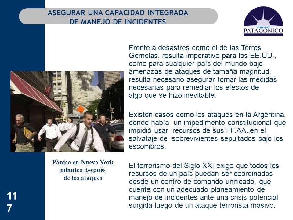 ASEGURAR UNA CAPACIDAD INTEGRADA DE MANEJO DE INCIDENTES