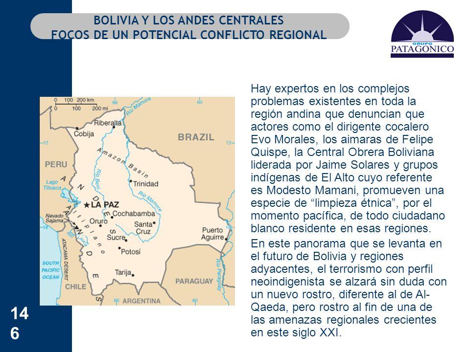 BOLIVIA Y LOS ANDES CENTRALES FOCOS DE UN POTENCIAL CONFLICTO REGIONAL