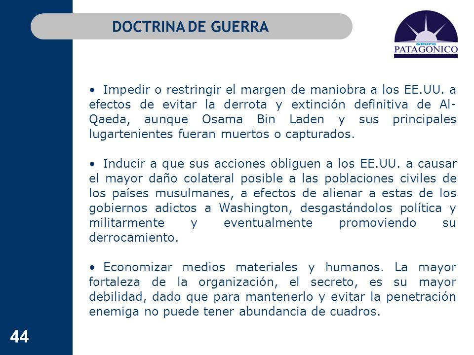 DOCTRINA DE GUERRA