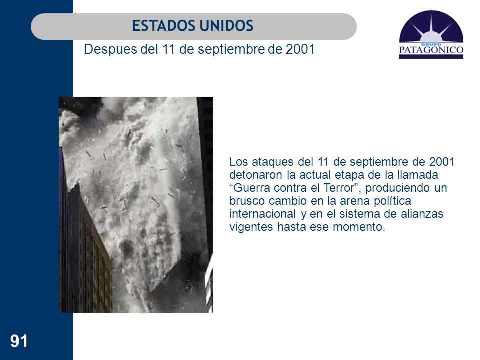 Despues del 11 de septiembre de 2001