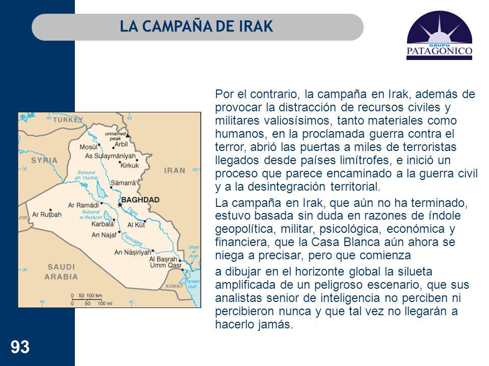 LA CAMPAÑA DE IRAK