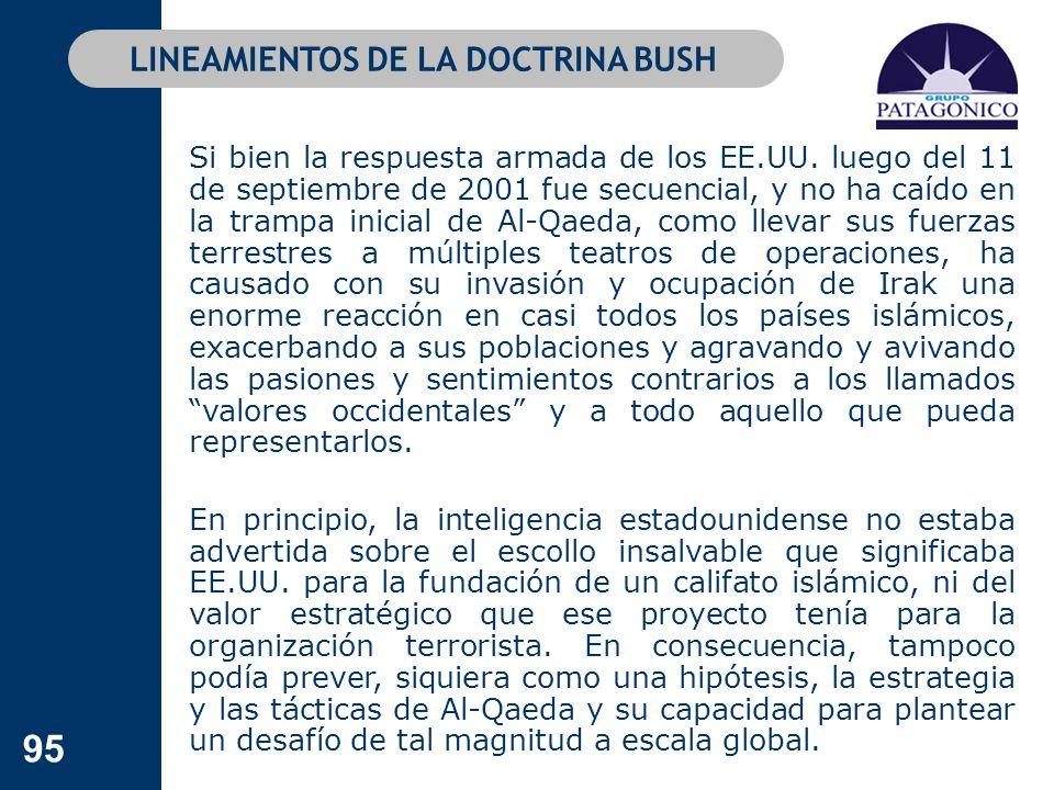 LINEAMIENTOS DE LA DOCTRINA BUSH