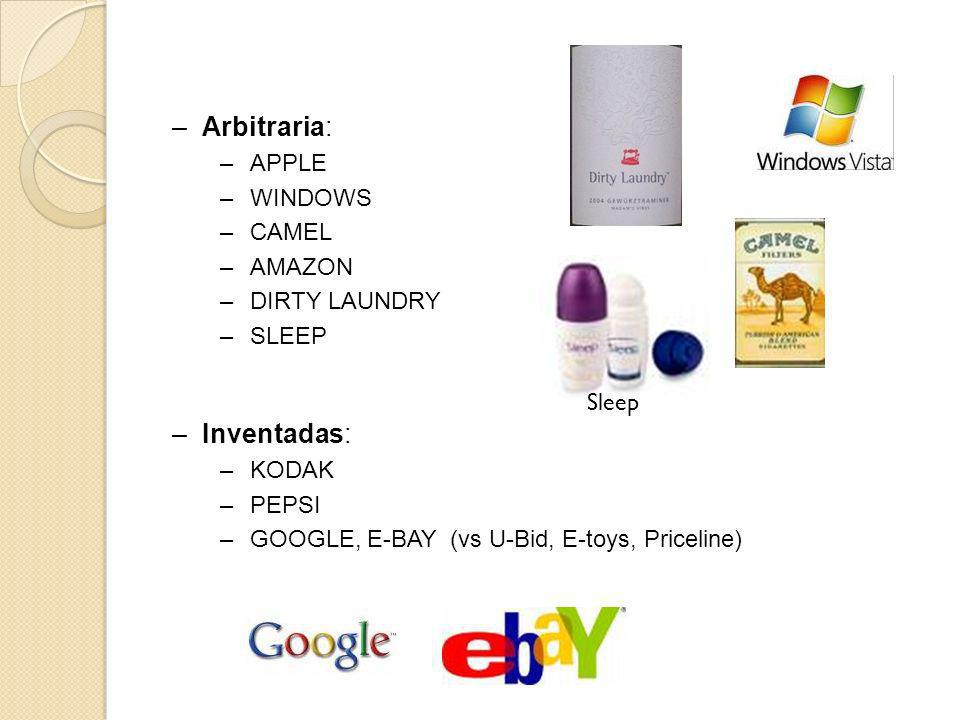 Arbitraria: Inventadas: APPLE WINDOWS CAMEL AMAZON DIRTY LAUNDRY SLEEP