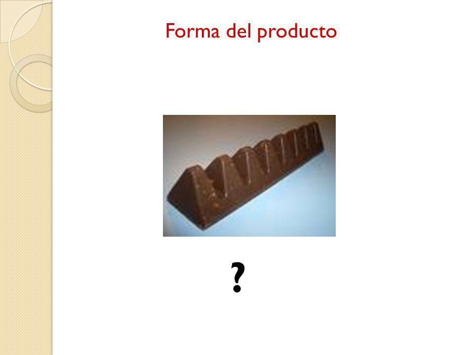 Forma del producto