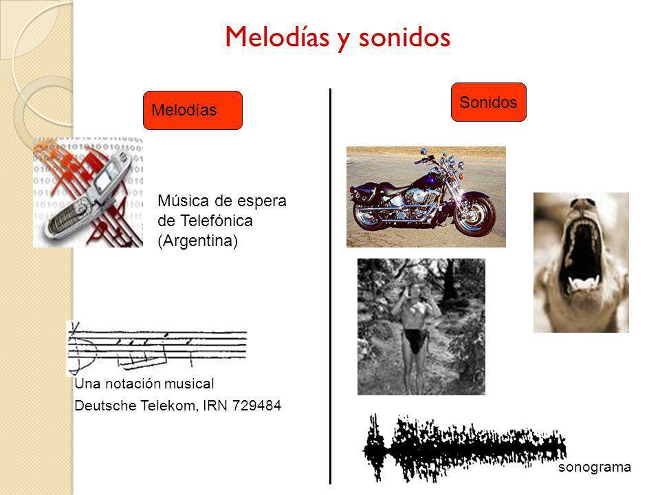 Melodías y sonidos Sonidos Melodías