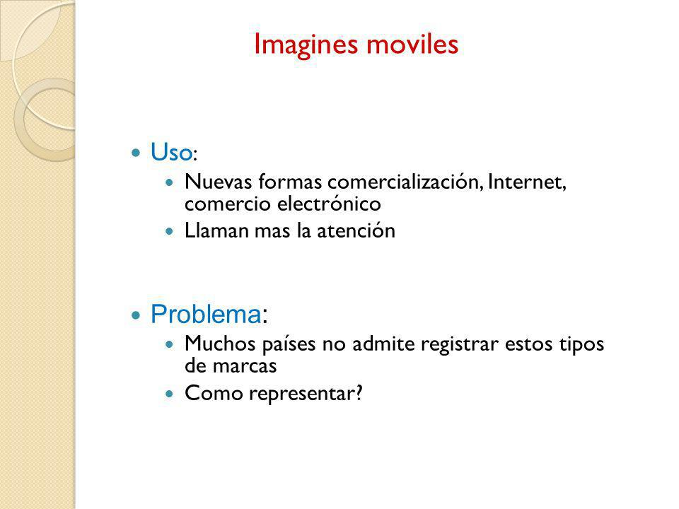 Imagines moviles Uso: Problema:
