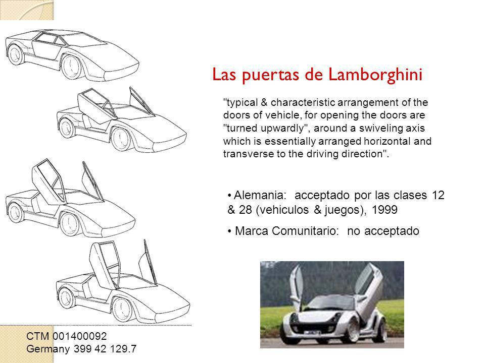 Las puertas de Lamborghini