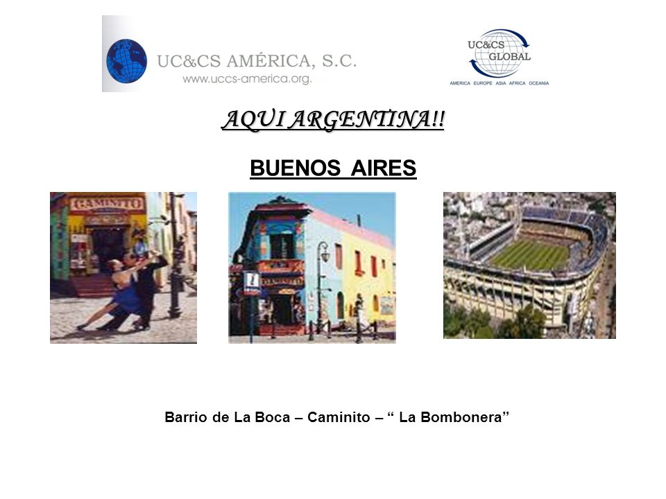 Barrio de La Boca – Caminito – La Bombonera