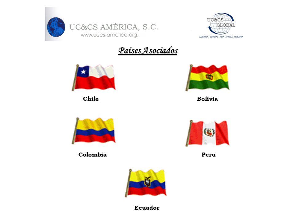 Países Asociados Chile Bolivia Colombia Peru Ecuador