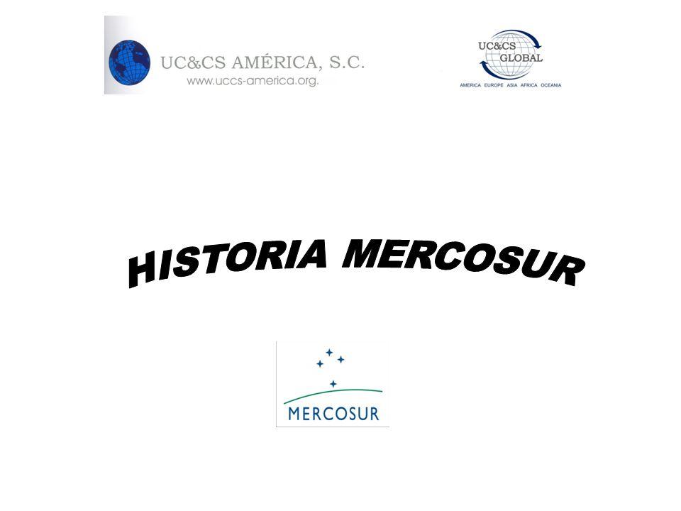 HISTORIA MERCOSUR