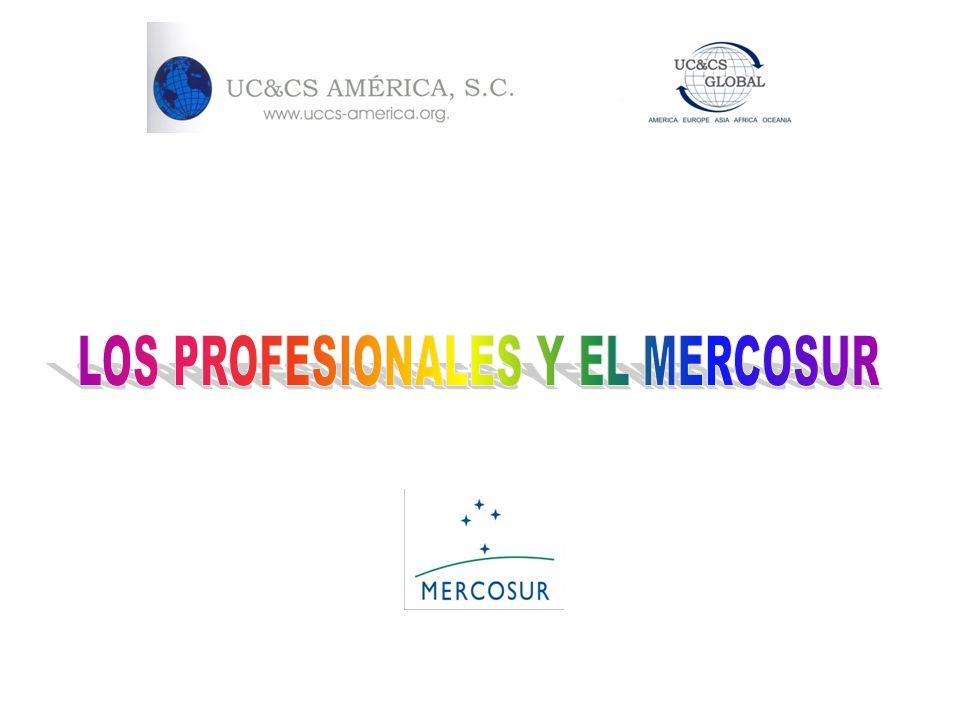 LOS PROFESIONALES Y EL MERCOSUR
