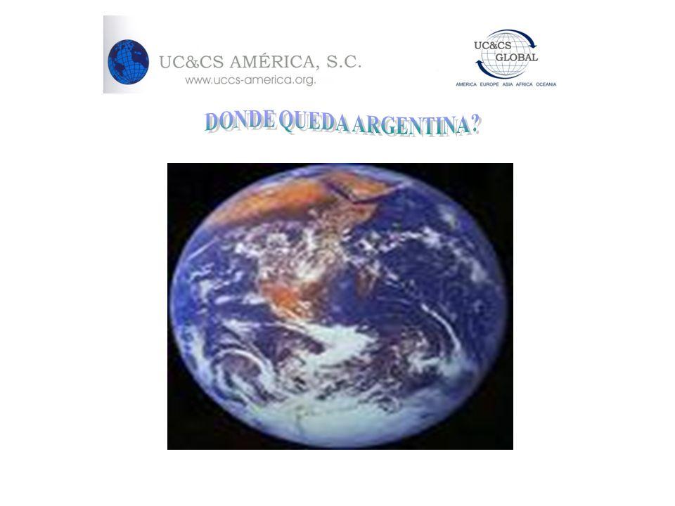 DONDE QUEDA ARGENTINA