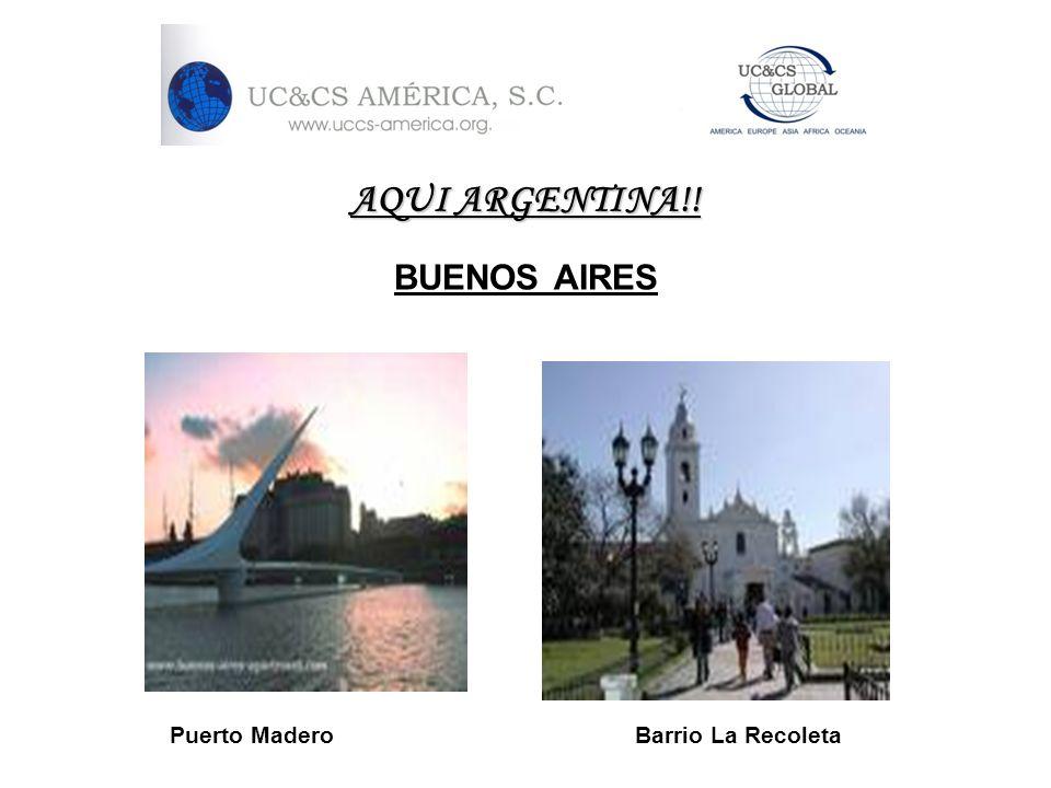 AQUI ARGENTINA!. BUENOS AIRES.