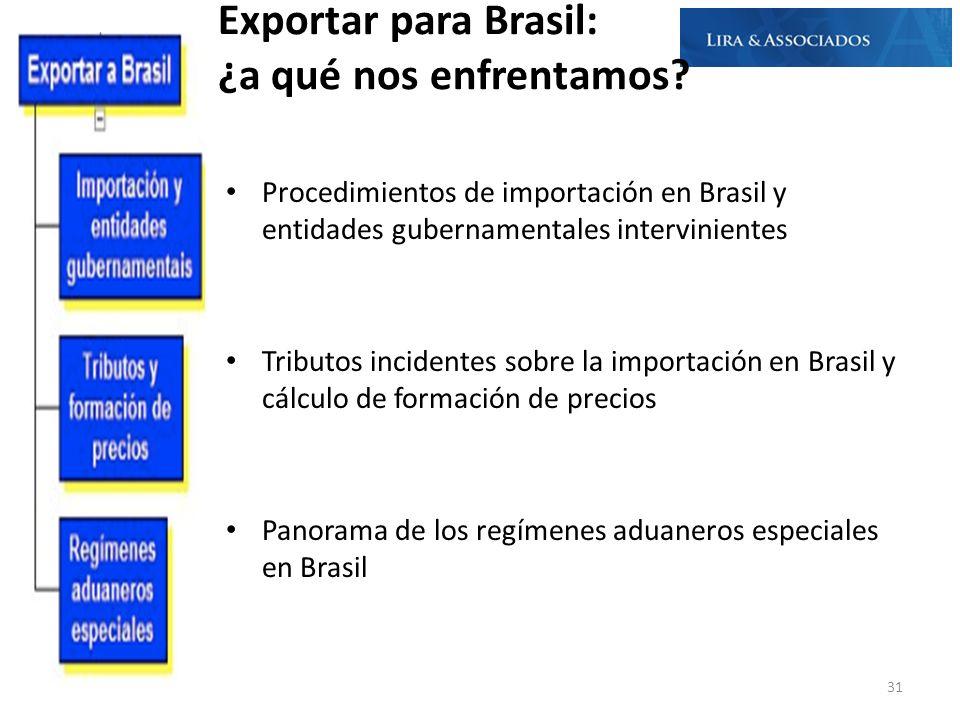 Exportar para Brasil: ¿a qué nos enfrentamos