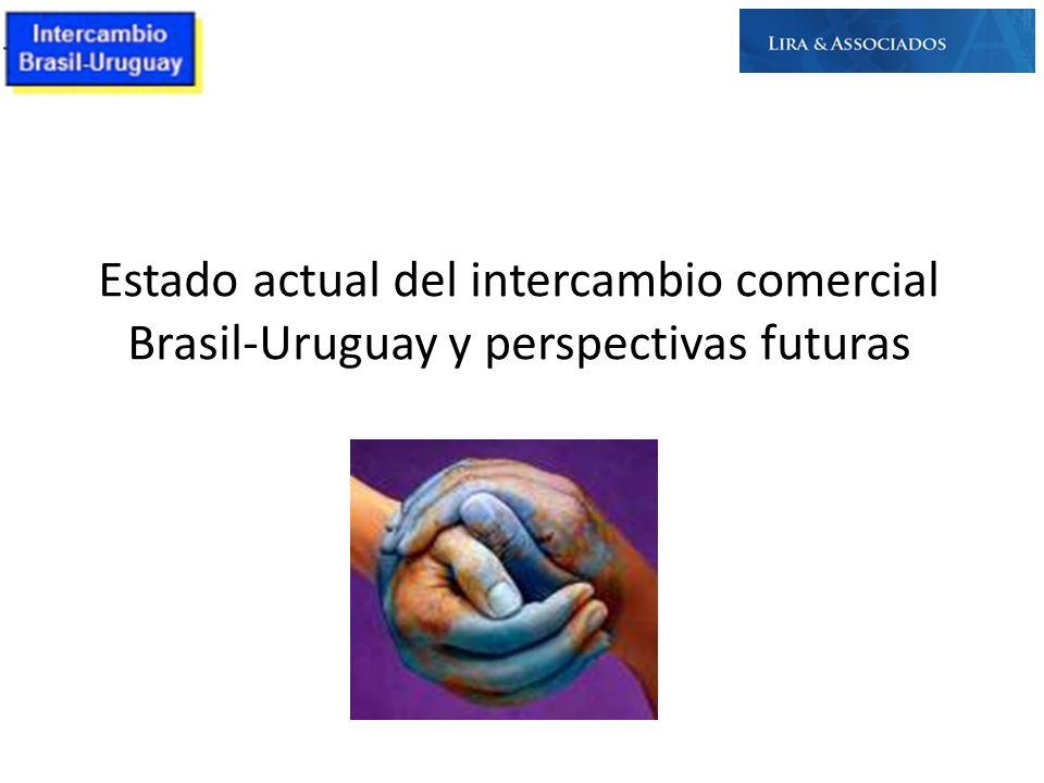 Estado actual del intercambio comercial Brasil-Uruguay y perspectivas futuras