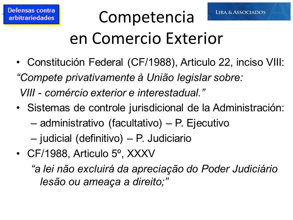 Competencia en Comercio Exterior