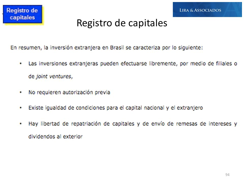 Registro de capitales