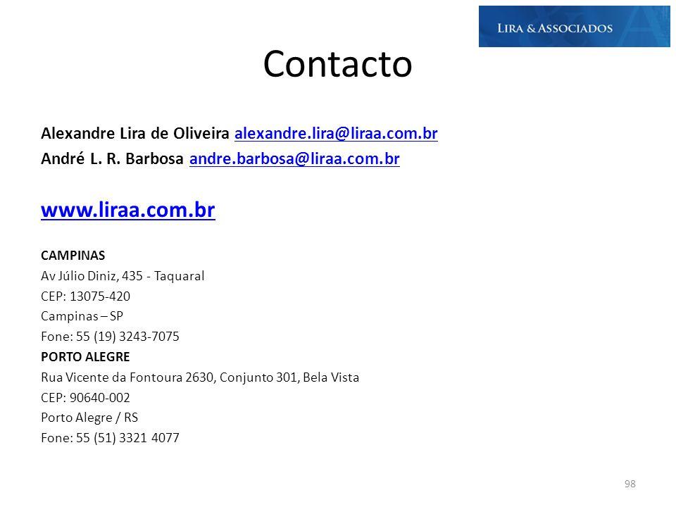 Contacto www.liraa.com.br