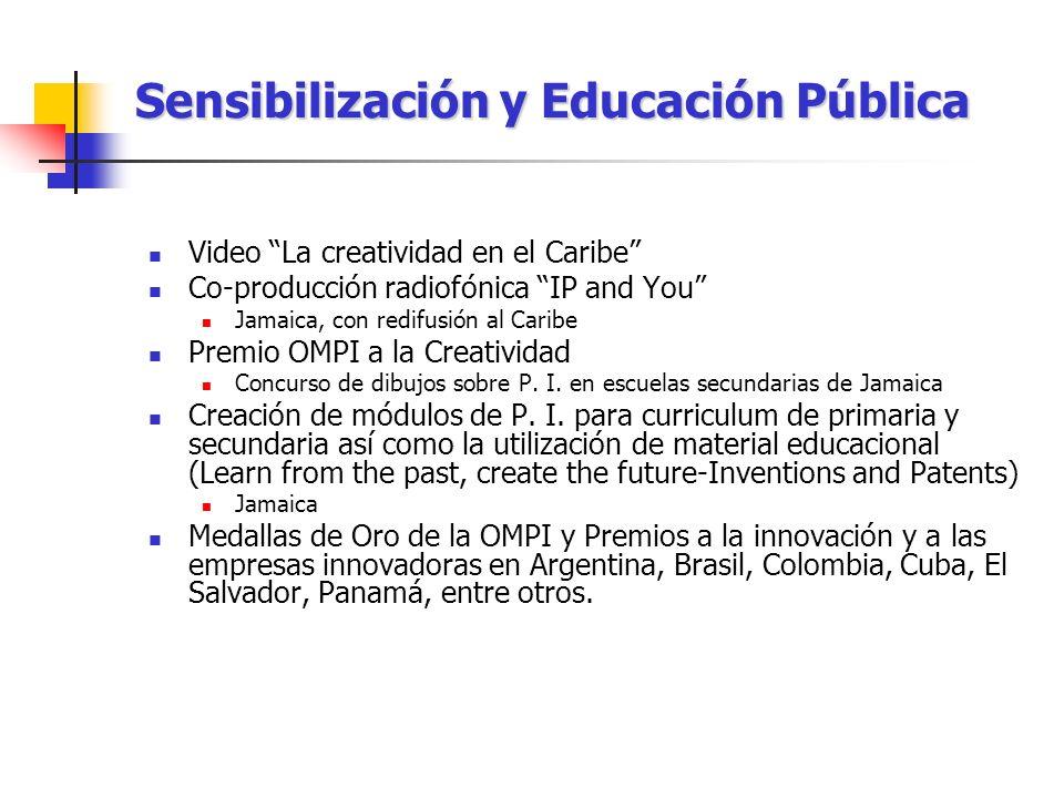 Sensibilización y Educación Pública