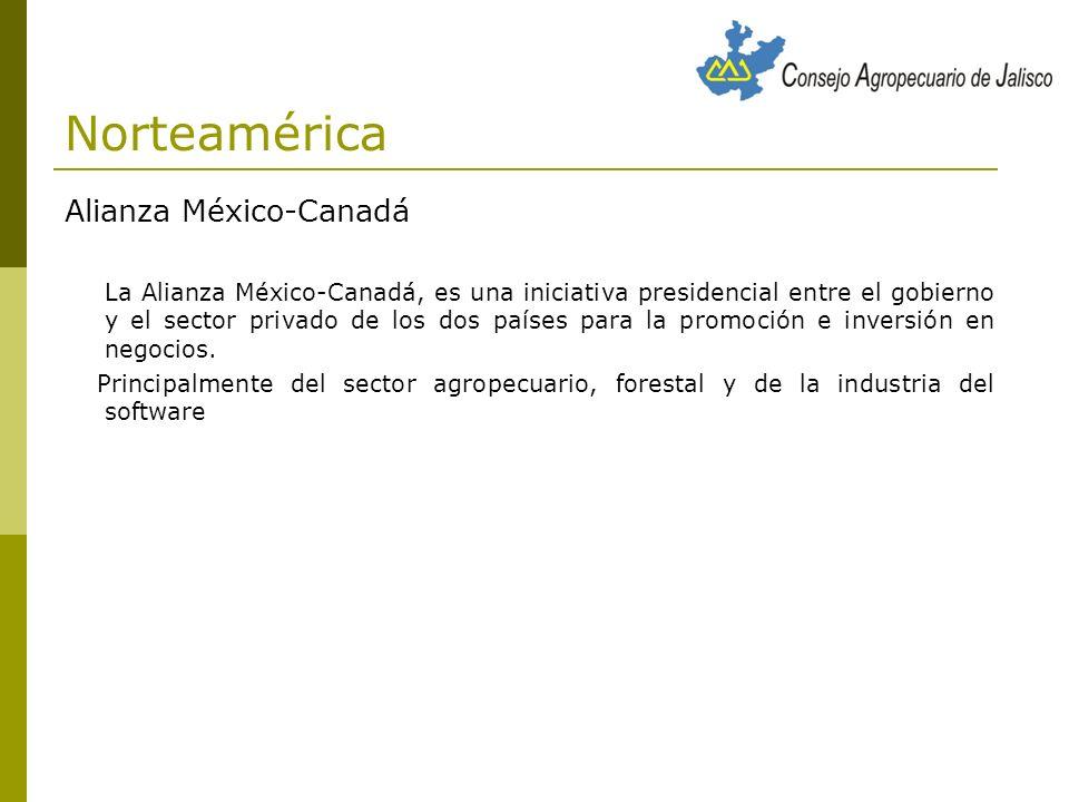 Norteamérica Alianza México-Canadá