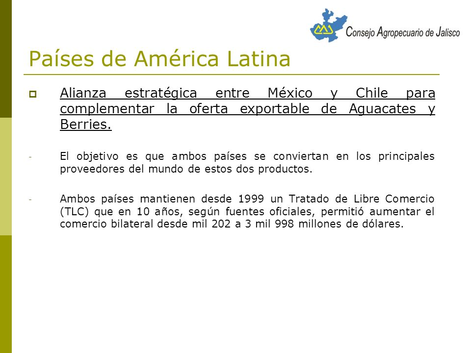 Países de América Latina