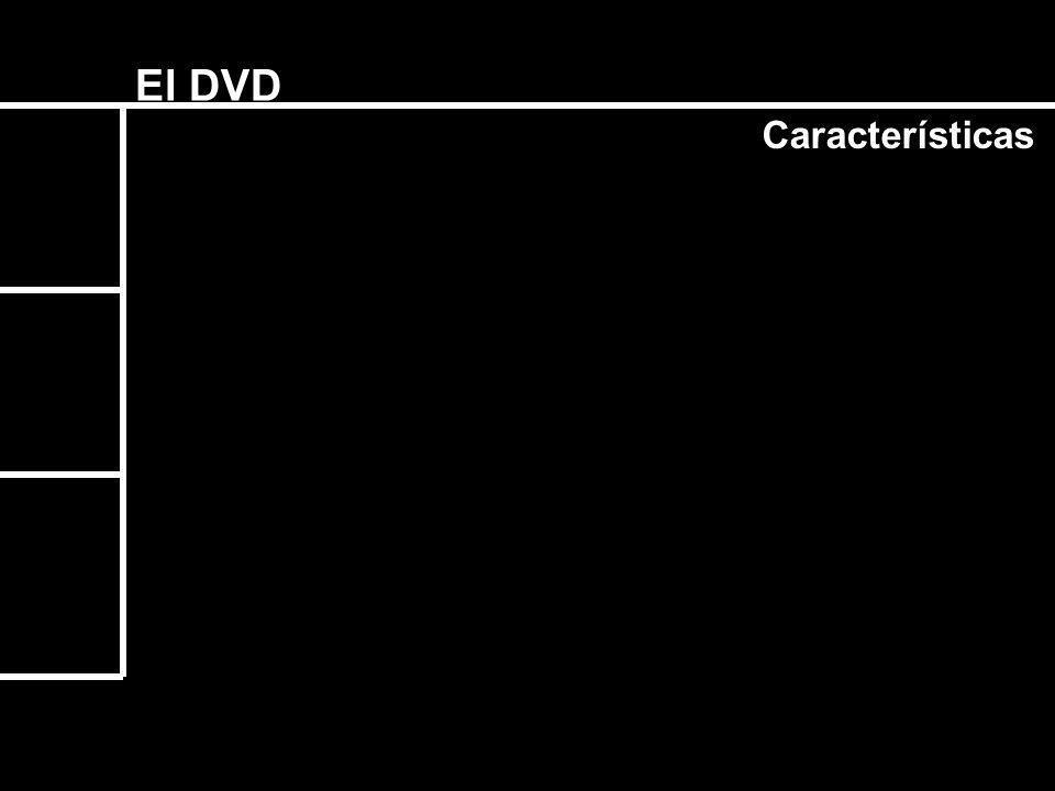 El DVD Características