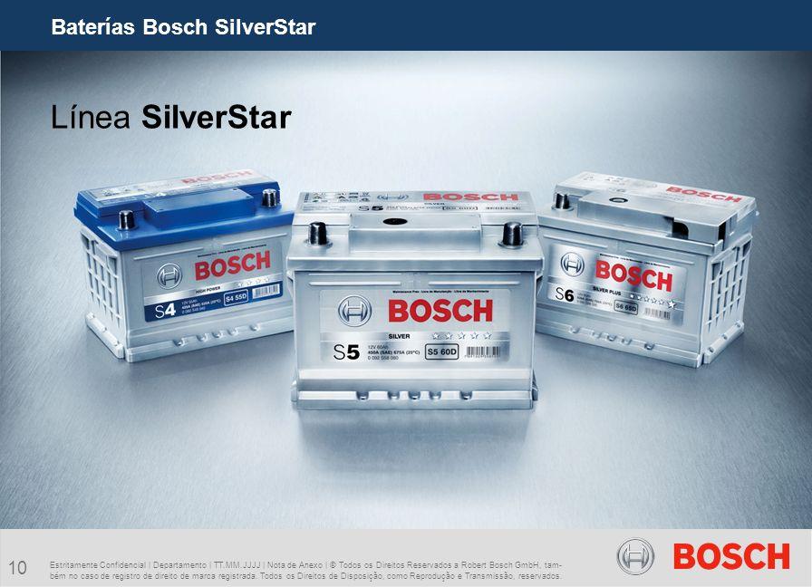 Baterías Bosch SilverStar
