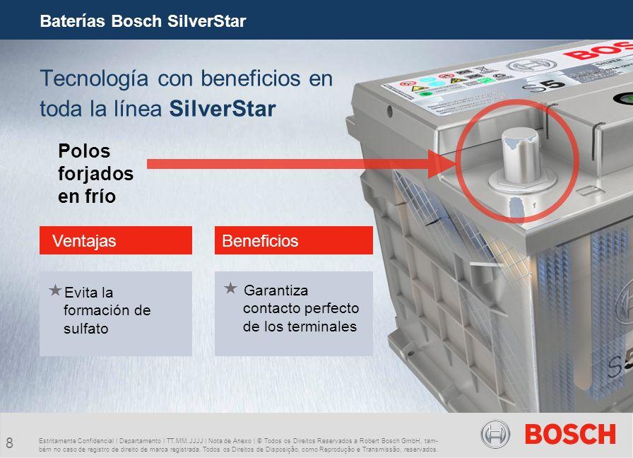 Tecnología con beneficios en toda la línea SilverStar