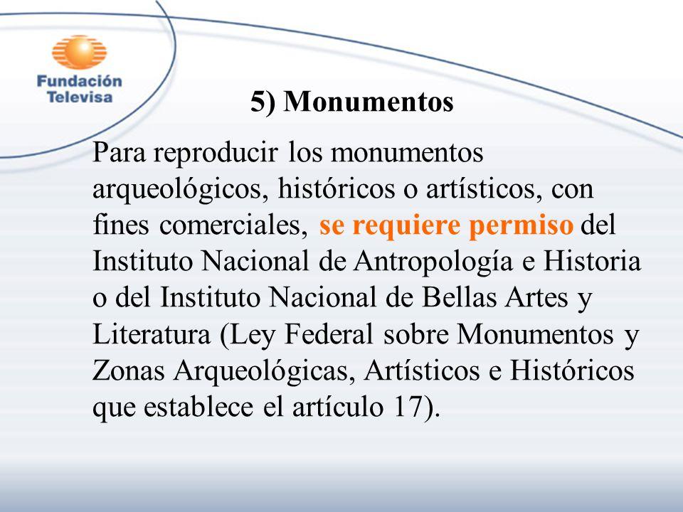 5) Monumentos