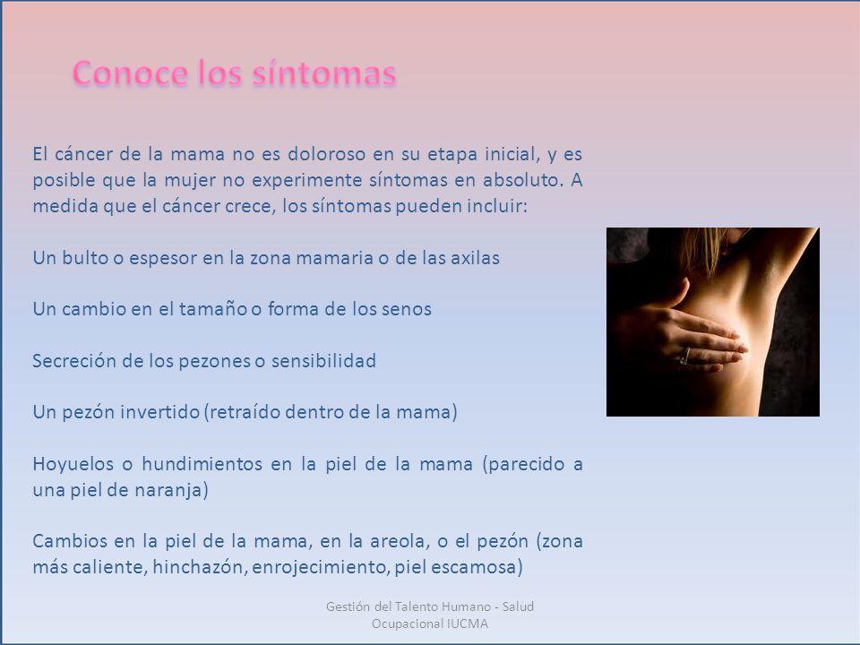 Gestión del Talento Humano - Salud Ocupacional IUCMA