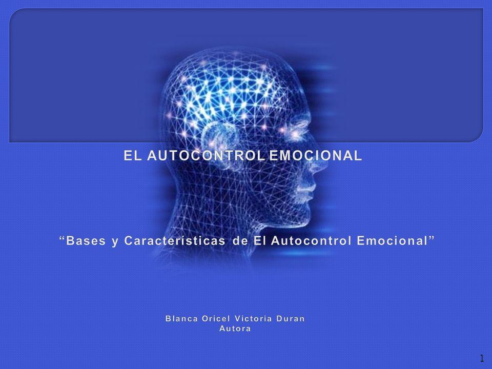 EL AUTOCONTROL EMOCIONAL