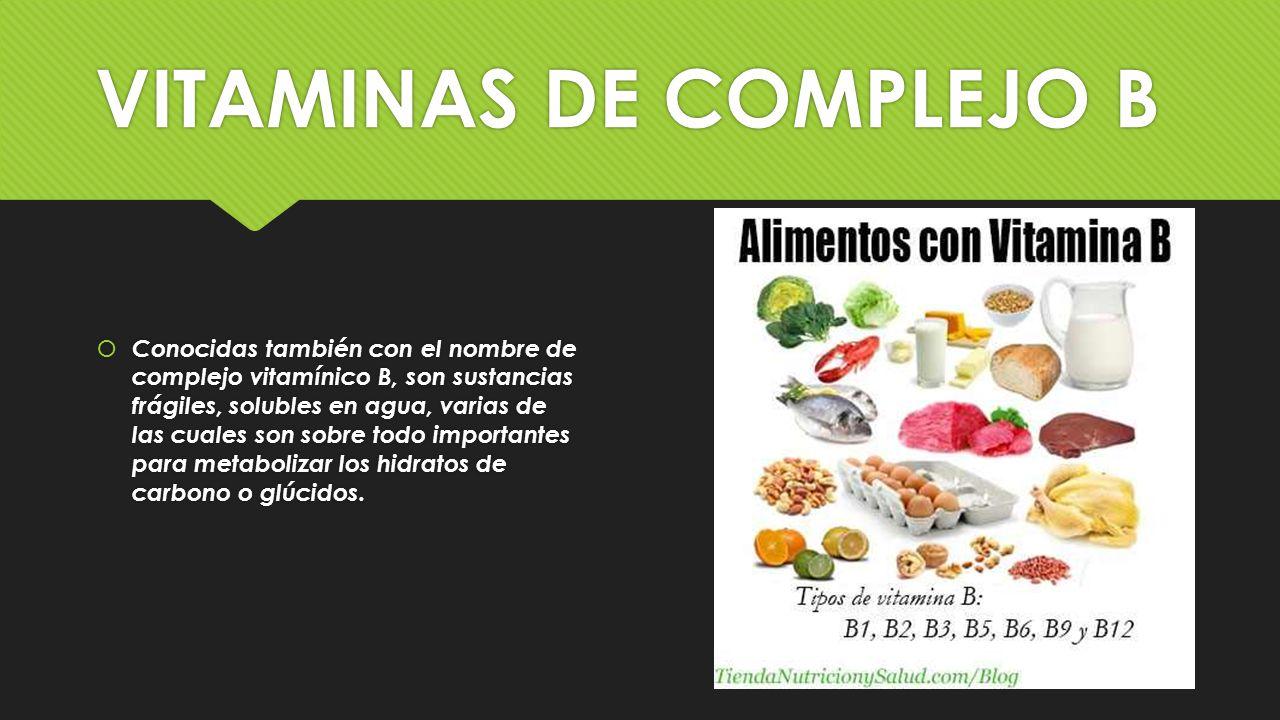 Vitaminas vitaminas ppt video online descargar - Alimentos vitaminas b ...