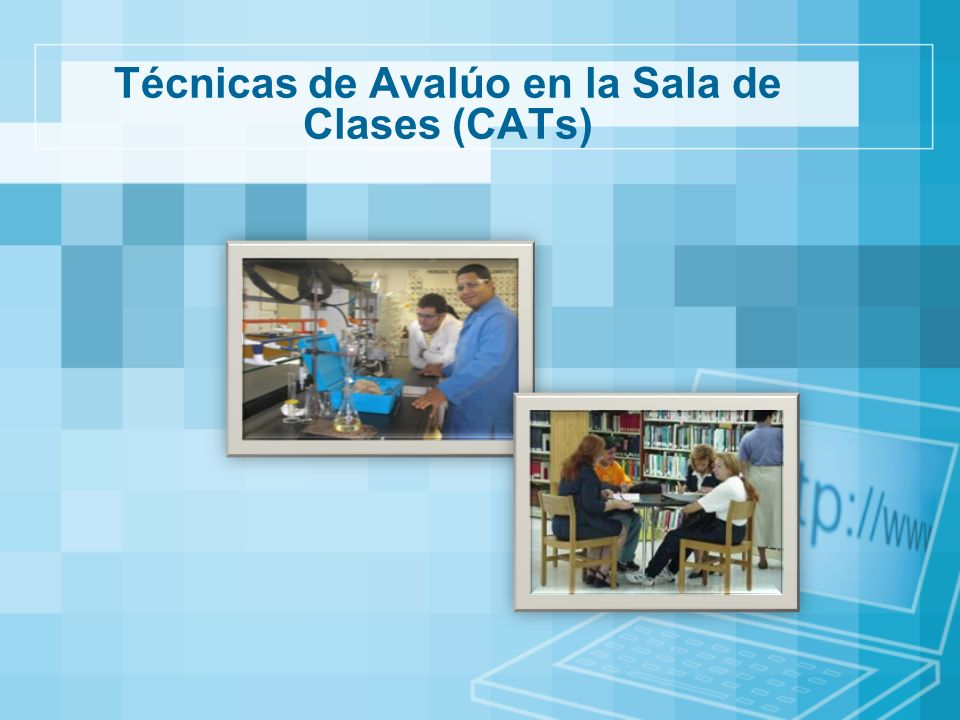 Técnicas de Avalúo en la Sala de Clases (CATs)