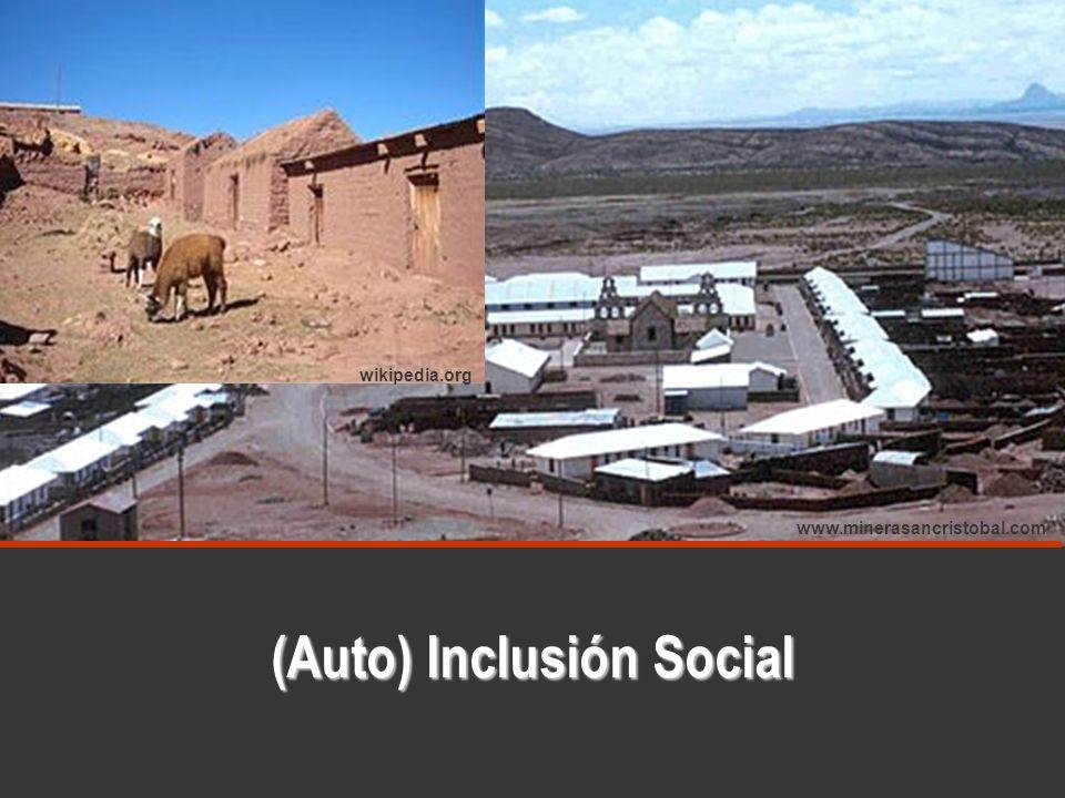 (Auto) Inclusión Social