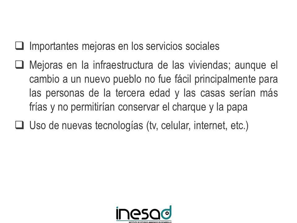 Importantes mejoras en los servicios sociales