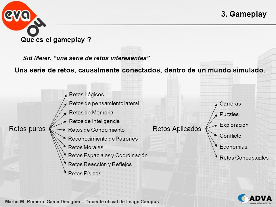 3. Gameplay Que es el gameplay