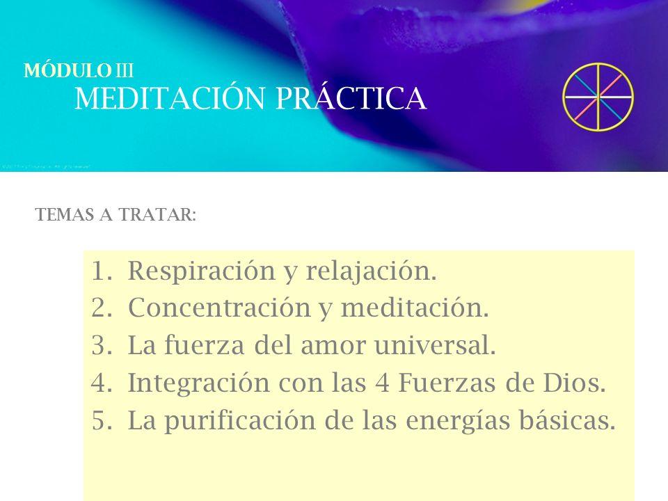 MEDITACIÓN PRÁCTICA Respiración y relajación.