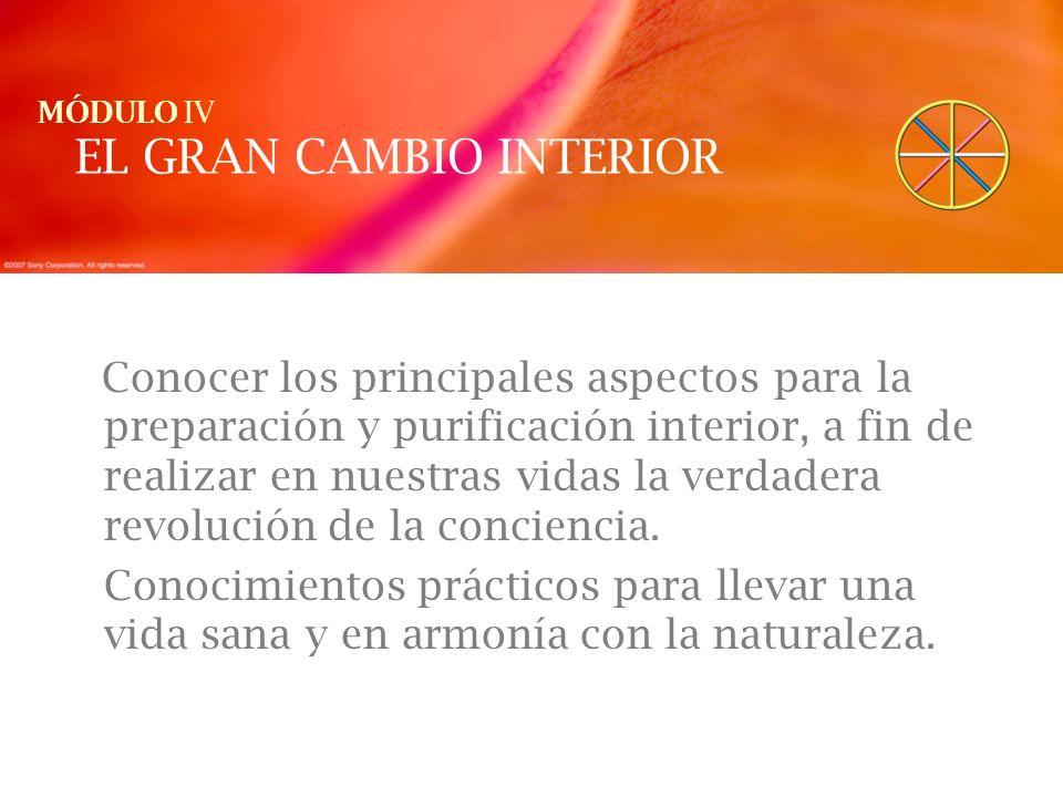 EL GRAN CAMBIO INTERIOR