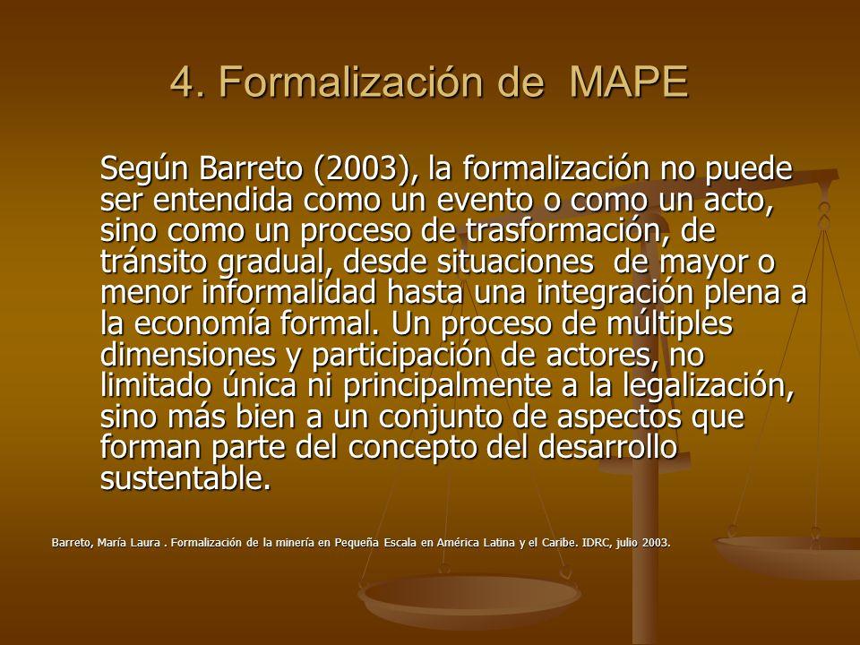 4. Formalización de MAPE
