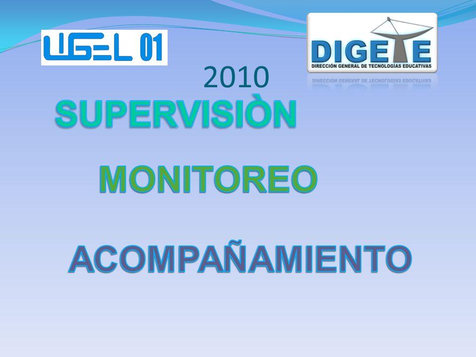 SUPERVISIÒN MONITOREO ACOMPAÑAMIENTO