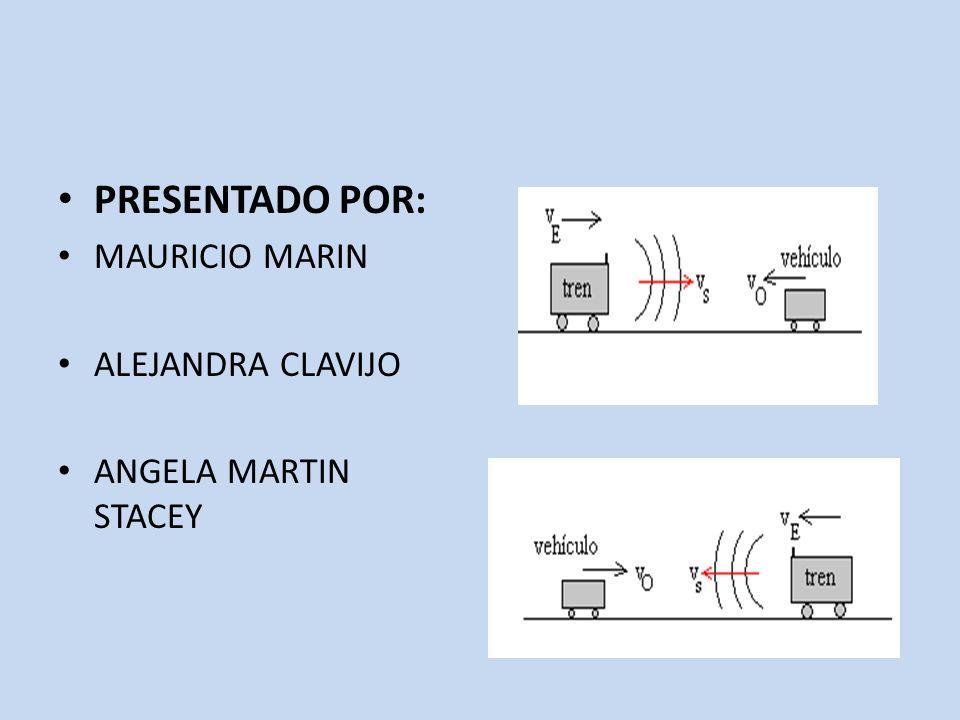 PRESENTADO POR: MAURICIO MARIN ALEJANDRA CLAVIJO ANGELA MARTIN STACEY