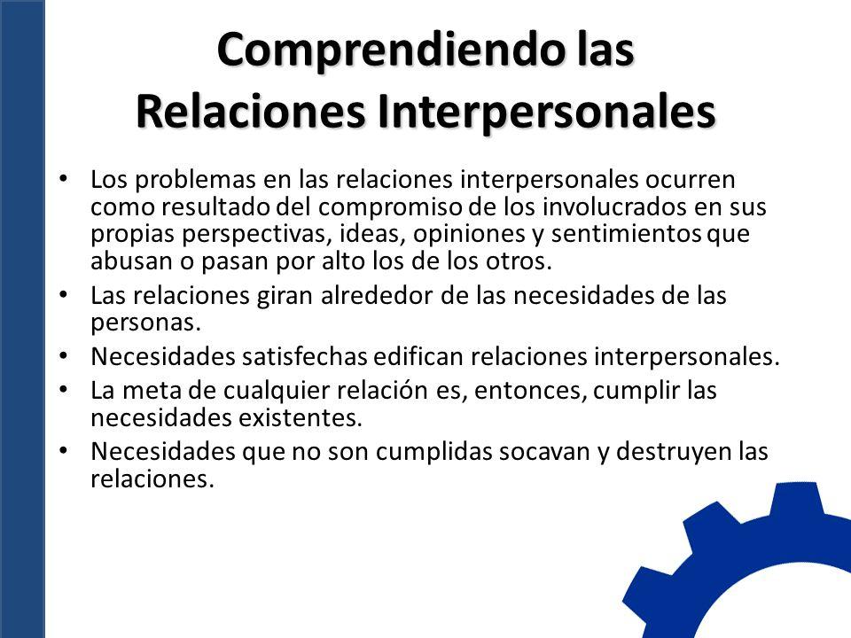 Comprendiendo las Relaciones Interpersonales