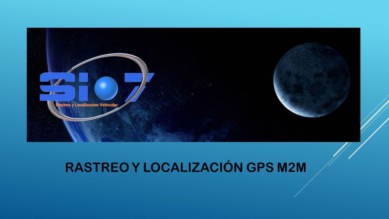Rastreo y localización gps m2m
