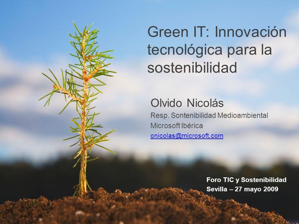 Green IT: Innovación tecnológica para la sostenibilidad