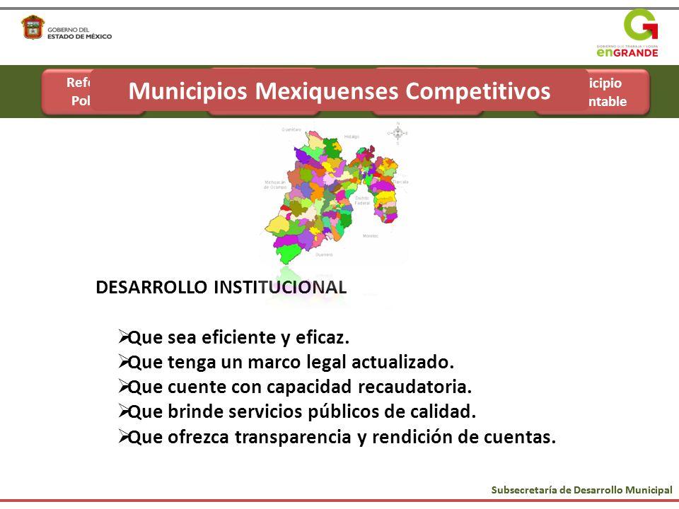 Reforma Administrativa Municipio Sustentable