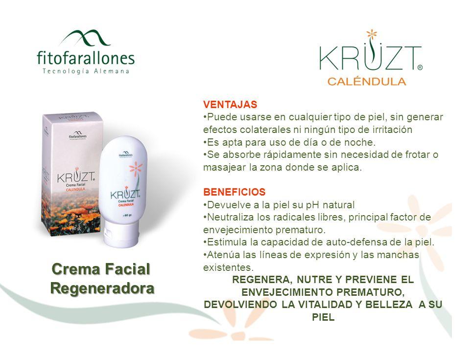 Crema Facial Regeneradora