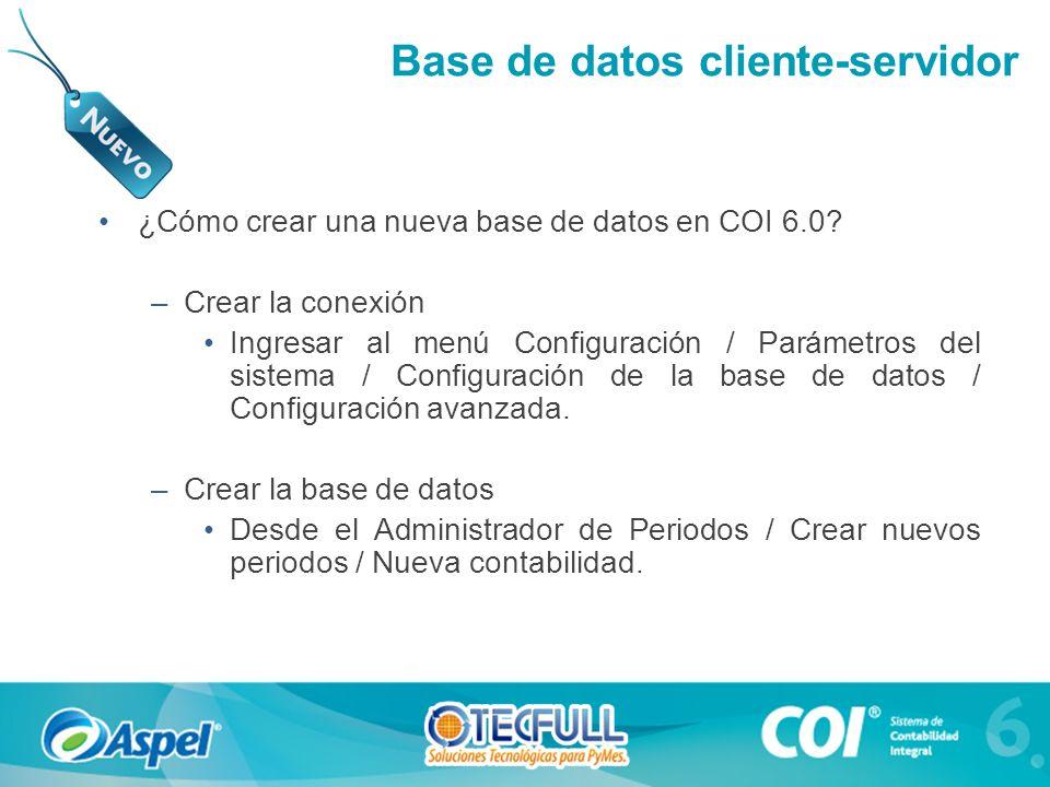 Base de datos cliente-servidor