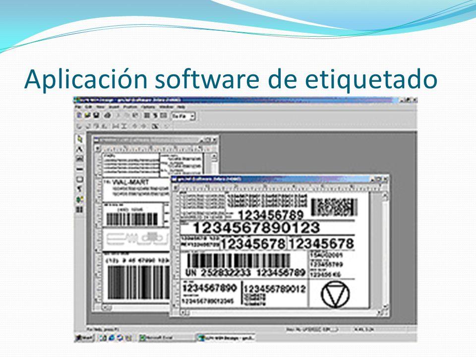 Aplicación software de etiquetado