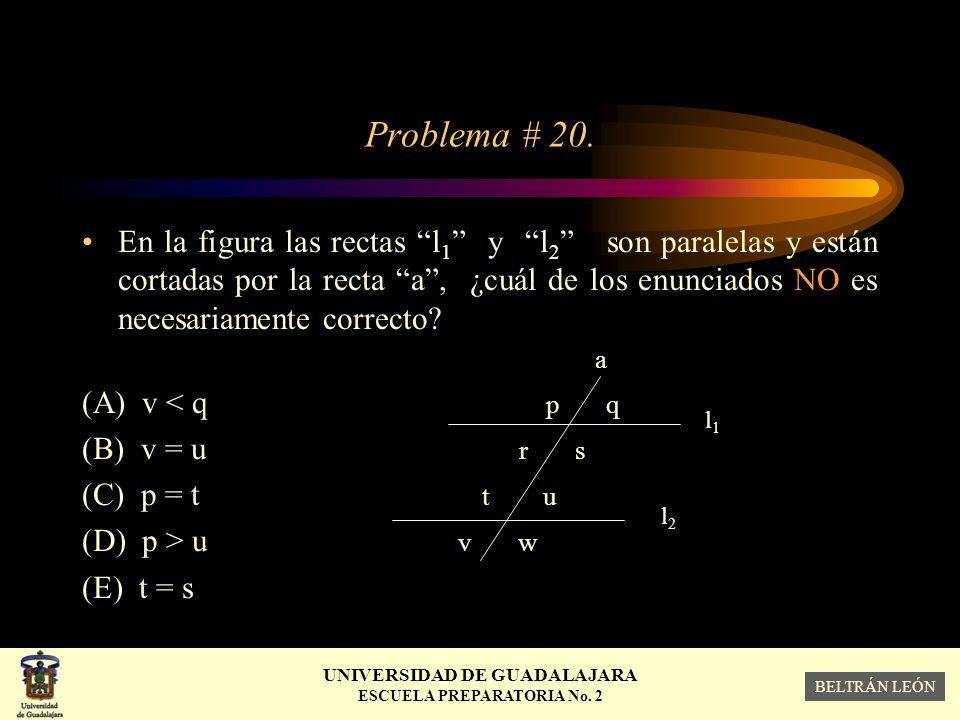 Problema # 20.