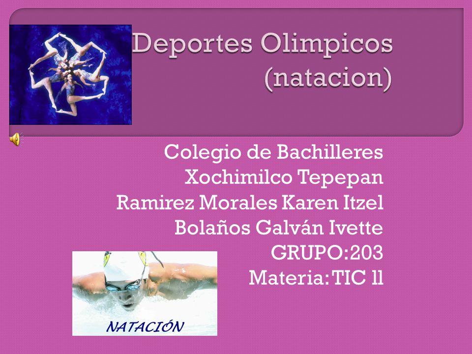 Deportes Olimpicos (natacion)